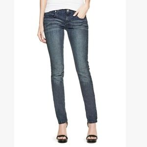 Guess Mid Rise Sarah Skinny Jeans